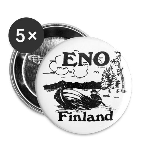 Kop kop sanoi Eno veneessä - Rintamerkit pienet 25 mm (5kpl pakkauksessa)