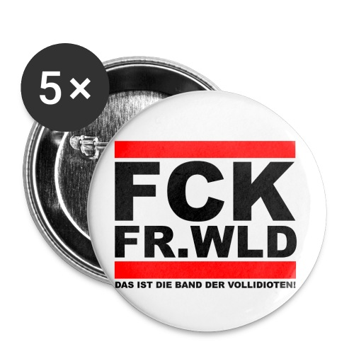 fckfrwld3 png - Buttons klein 25 mm (5er Pack)