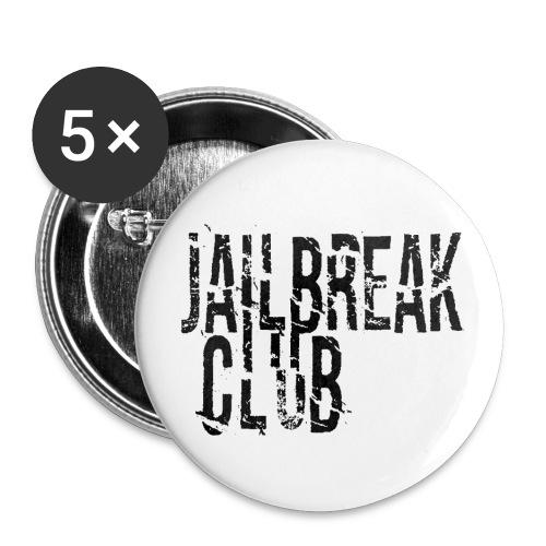 JBC Logo BK - Buttons klein 25 mm (5er Pack)