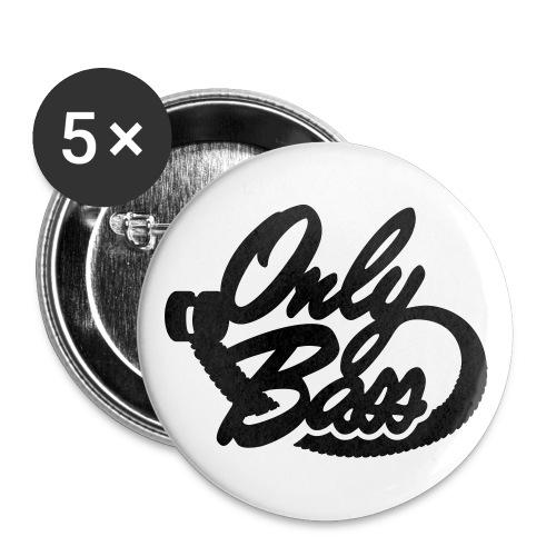 logoob mini - Lot de 5 petits badges (25 mm)