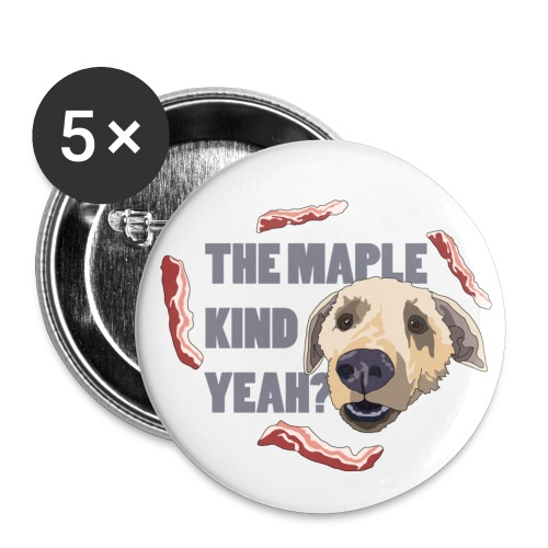 dogmaple3 - Buttons small 1''/25 mm (5-pack)