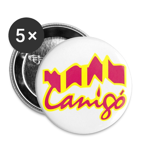 canigo catala - Buttons klein 25 mm (5er Pack)