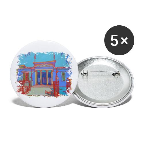 Nikosia - Buttons klein 25 mm (5er Pack)
