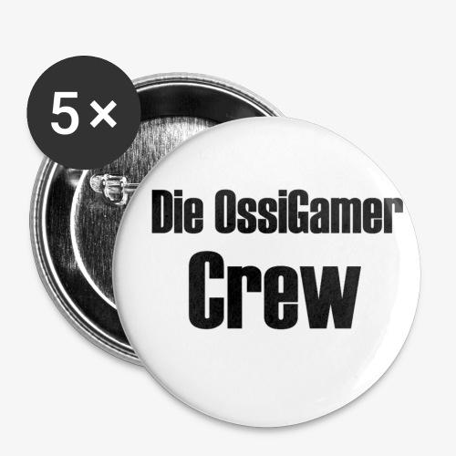 Die OssiGamer abzeichen - Buttons klein 25 mm (5er Pack)