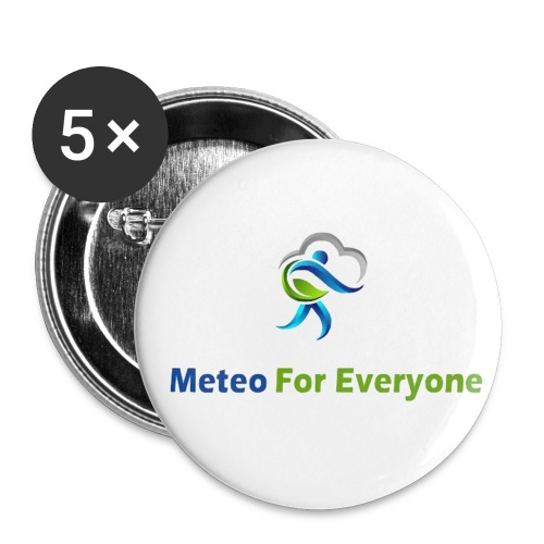 Logo Zebot grand jpg - Lot de 5 petits badges (25 mm)