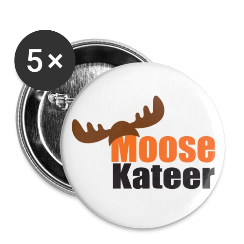 Moose-kateer (light) - Buttons small 1''/25 mm (5-pack)