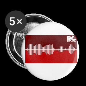Amplitude Edition - Buttons klein 25 mm