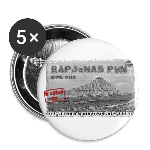 introwhitegif - Lot de 5 petits badges (25 mm)