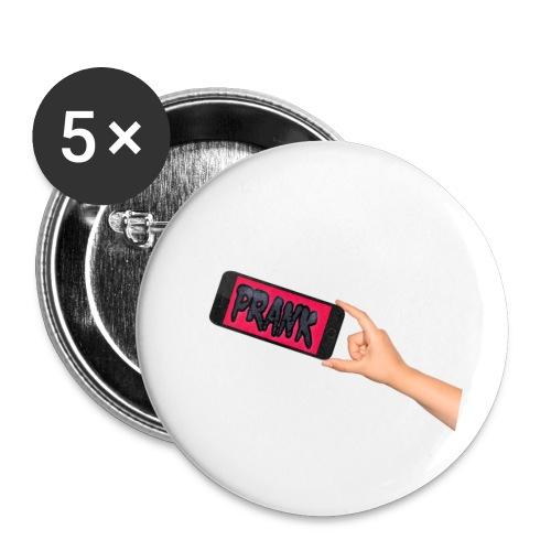 PrankPhone - Små knappar 25 mm (5-pack)