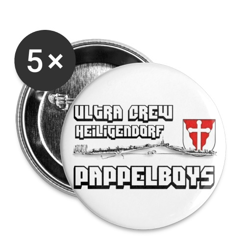 papbig - Buttons klein 25 mm (5er Pack)