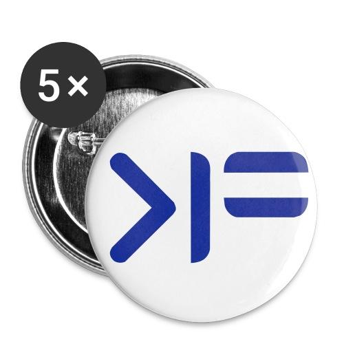 felix hinten - Buttons klein 25 mm (5er Pack)