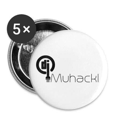 DJ Muhackl - Buttons klein 25 mm (5er Pack)