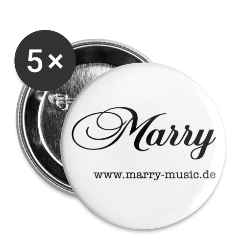 marry_klein - Buttons klein 25 mm (5er Pack)