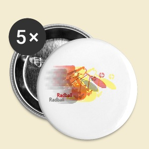 Radball | Earthquake Germany - Buttons klein 25 mm
