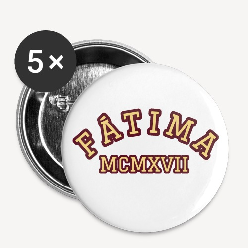 FATIMA MCMXVII - Buttons small 1''/25 mm (5-pack)