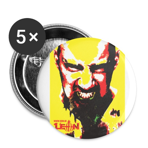 yellowsticker v3 kopie big - Buttons small 1''/25 mm (5-pack)