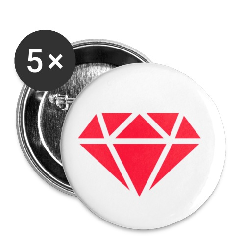 Logomakr_29f0r5 - Buttons small 1''/25 mm (5-pack)