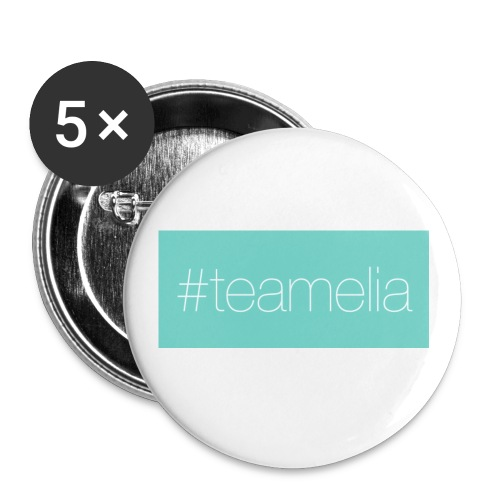 #teamelia - Buttons klein 25 mm (5er Pack)