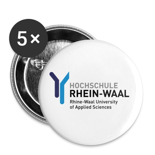 hrwlogo2010rgb1000pxbreite - Buttons small 1''/25 mm (5-pack)