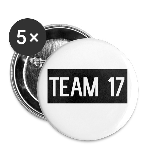 Team17 - Buttons small 1''/25 mm (5-pack)