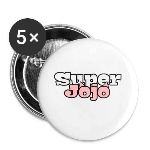 SuperJojo - Buttons small 1''/25 mm (5-pack)