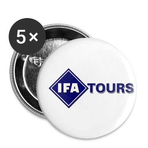 IFA Tours Logo gross - Buttons klein 25 mm (5er Pack)