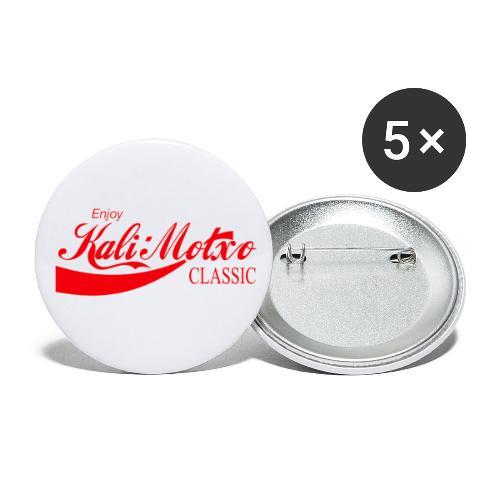 Kalimotxo Classic Red - Paquete de 5 chapas pequeñas (25 mm)