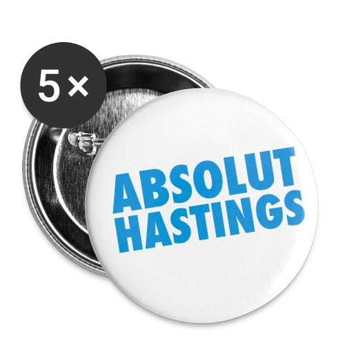 absoluthastings - Buttons small 1''/25 mm (5-pack)