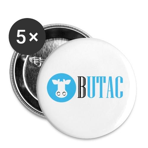 nuovo logo butac - Confezione da 5 spille piccole (25 mm)
