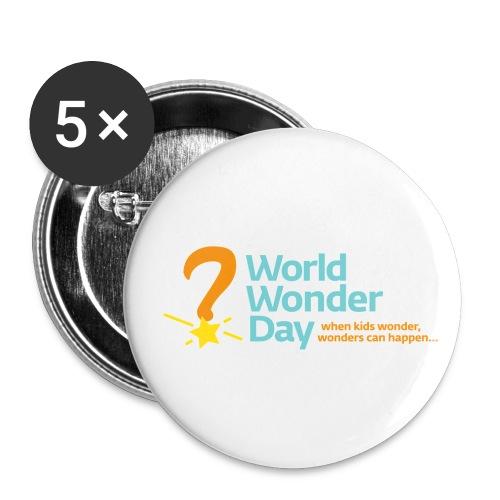 wwd_logo_FINAL - Buttons small 1''/25 mm (5-pack)