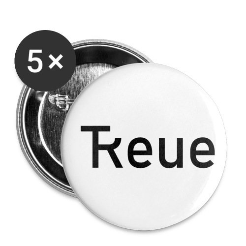 TReue - Buttons klein 25 mm (5er Pack)