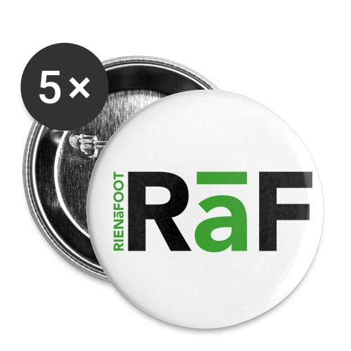 RAF flocage - Lot de 5 petits badges (25 mm)