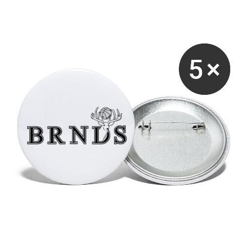 BRNDS Basket - Confezione da 5 spille piccole (25 mm)