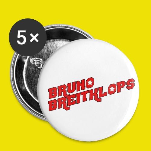 Bruno Breitklops - Buttons klein 25 mm (5er Pack)