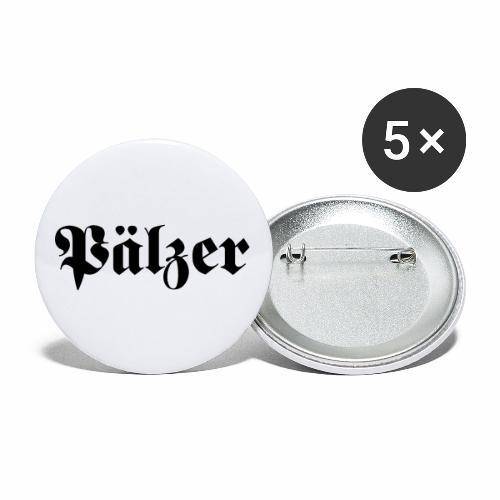Pälzer - Buttons klein 25 mm (5er Pack)
