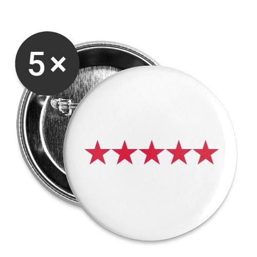 Rating stars - Rintamerkit pienet 25 mm (5kpl pakkauksessa)