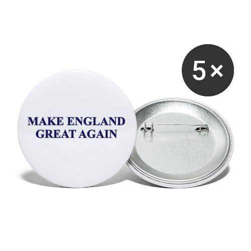 MAKE ENGLAND GREAT AGAIN - Buttons small 1''/25 mm (5-pack)