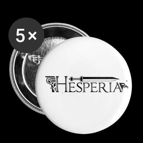 HESPERIA logo 2016 - Buttons small 1''/25 mm (5-pack)
