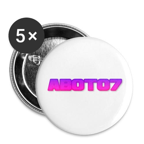 Abot07 - Små knappar 25 mm (5-pack)