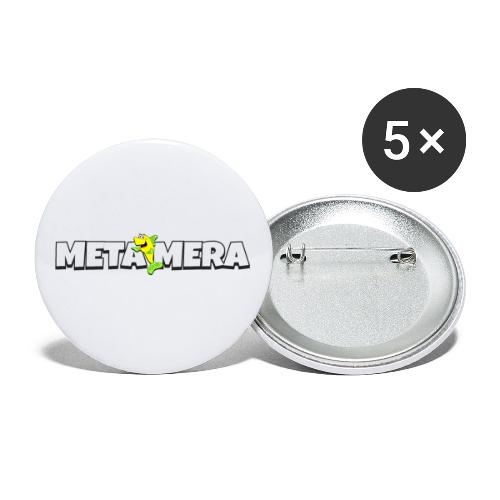 MetaMera - Små knappar 25 mm (5-pack)