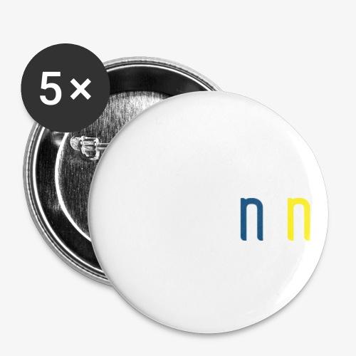 VSTGN.NU - Buttons/Badges lille, 25 mm (5-pack)