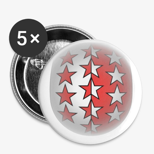 Wappen Wallis rund - Buttons klein 25 mm