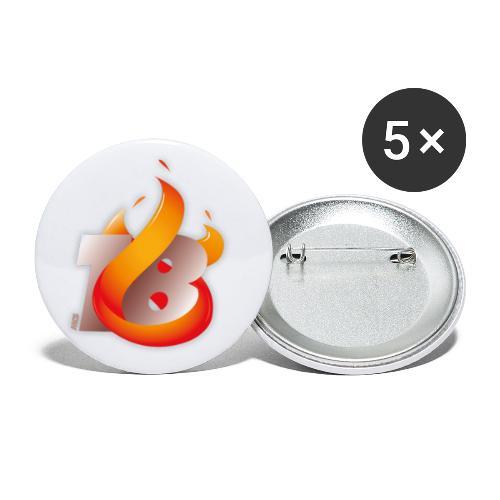 MCS 2018 - Buttons klein 25 mm (5er Pack)