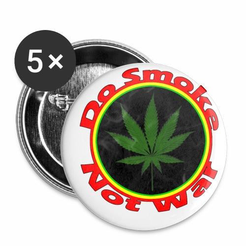 Do Smoke Not War - Buttons klein 25 mm (5er Pack)
