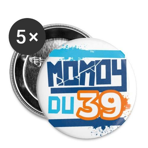 momoy39 - Lot de 5 petits badges (25 mm)