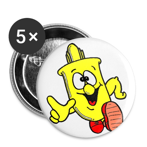 Sven the Sax - Buttons small 1''/25 mm (5-pack)