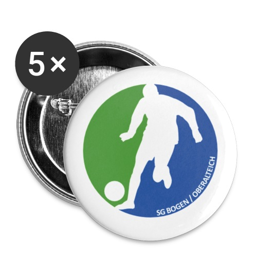 Sport PNG - Buttons klein 25 mm (5er Pack)