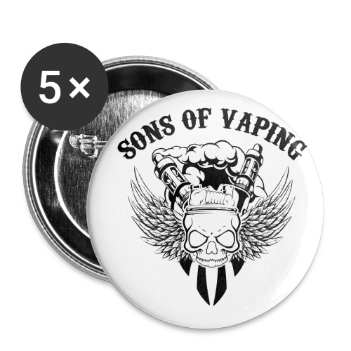 Sons Of Vaping - Confezione da 5 spille piccole (25 mm)