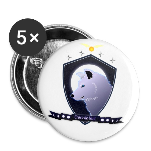 Logo Crocs de Nuit - Badge petit 25 mm