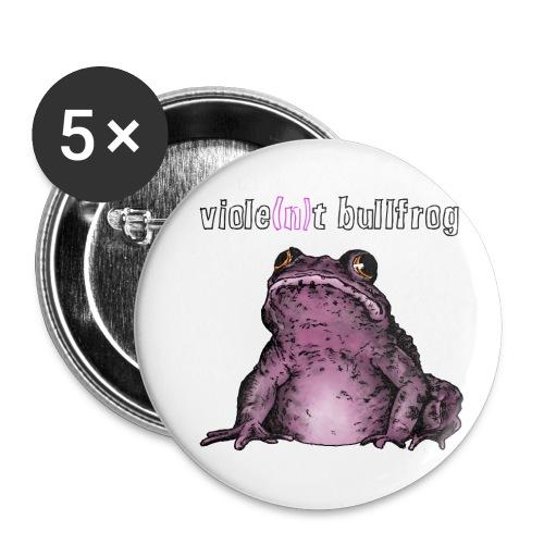 bullfrogtranspaxxbutton01 png - Buttons klein 25 mm (5er Pack)